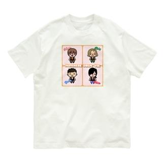 Vieさん達 Organic Cotton T-shirts