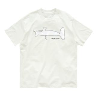 巨大ザメ・メガロドン! Organic Cotton T-shirts