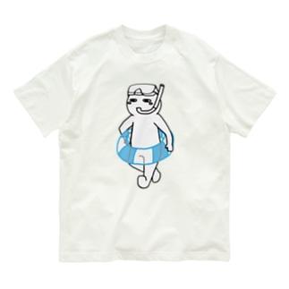 夏は嫌いだ(文字無し) Organic Cotton T-Shirt