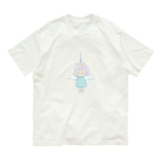首吊り天使ちゃん Organic Cotton T-shirts