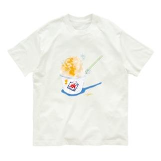 かき氷(檸檬) Organic Cotton T-shirts