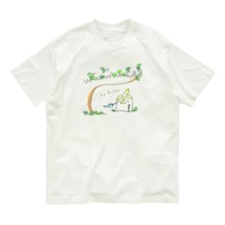 長老の盆栽 Organic Cotton T-shirts