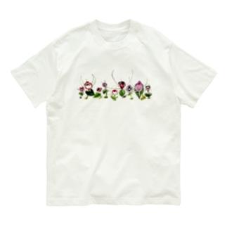 一列コリバス Organic Cotton T-shirts
