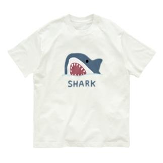 サメ Organic Cotton T-shirts