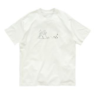 長老の散歩(黒) Organic Cotton T-Shirt