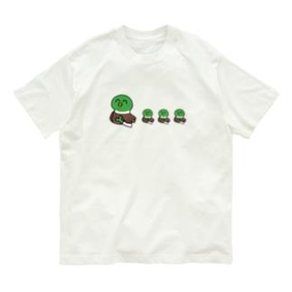 かもちゃん親子 Organic Cotton T-shirts