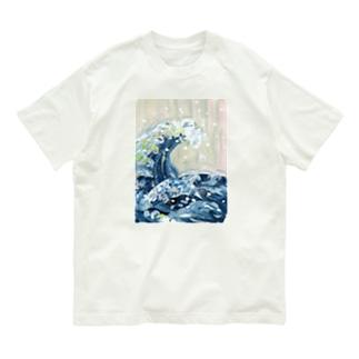 浮世絵 葛飾北斎 Organic Cotton T-shirts