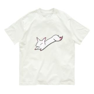 ぐでっと狐 Organic Cotton T-shirts
