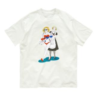 奥様は楽園の覇者 Organic Cotton T-shirts