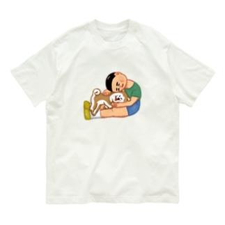 犬と僕 Organic Cotton T-shirts