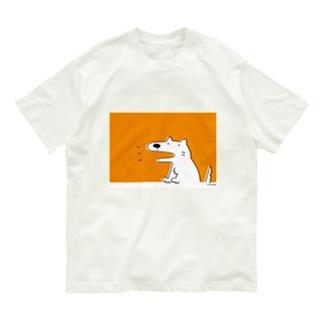 いぬの しろさん Organic Cotton T-shirts