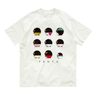 ぺんつ Organic Cotton T-Shirt