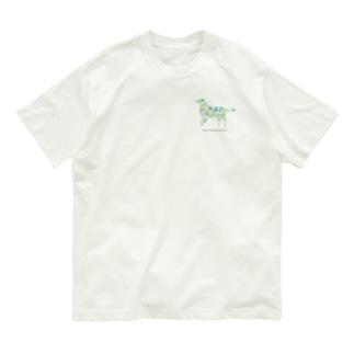 森 フラットコーテッドレトリバー Organic Cotton T-shirts