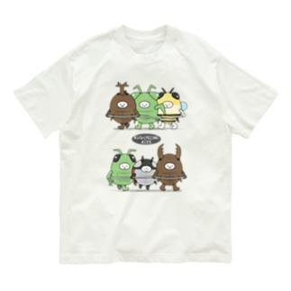 きぐるみキッズ(昆虫) Organic Cotton T-shirts