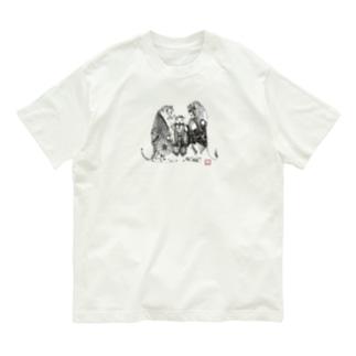 黄門さま(Love All Wild Animals) Organic Cotton T-shirts