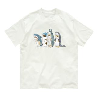 サメ図鑑 Organic Cotton T-shirts