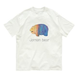 Jomon bear Organic Cotton T-shirts