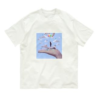 Marionette(blue) Organic Cotton T-shirts