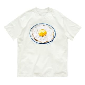 目玉焼きごはん2 Organic Cotton T-shirts