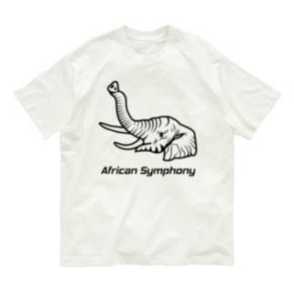 African Symphony【Bタイプ】 Organic Cotton T-shirts
