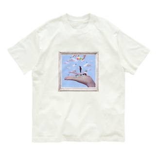 Marionette(flame-B) Organic Cotton T-shirts