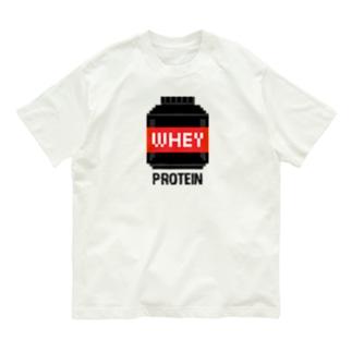 ホエイプロテイン Organic Cotton T-shirts
