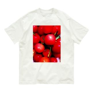 佐藤錦 Organic Cotton T-shirts