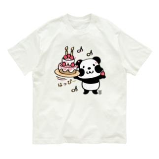 kyu13ズレぱんだちゃんのはっぴー Organic Cotton T-shirts