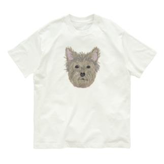 ヨークシャーテリア Organic Cotton T-shirts