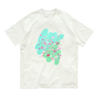 秋桜畑で会いましょう Organic Cotton T-shirts