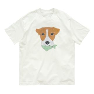 ジャックラッセルテリア Organic Cotton T-shirts