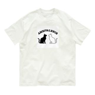 オーガニックコットンアンビバキャットT Organic Cotton T-shirts
