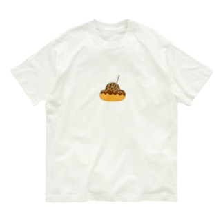 ぷくたこ焼き Organic Cotton T-shirts