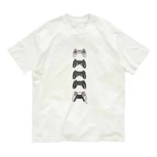 コントローラーくん Organic Cotton T-shirts