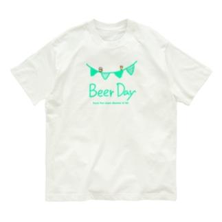 ビールを飲んでもいい日 Organic Cotton T-shirts
