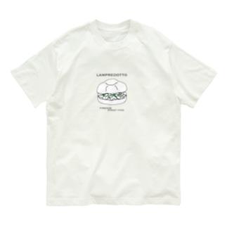ランプレイラスト 黒文字パターン Organic Cotton T-Shirt