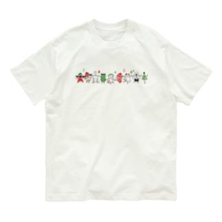 おばけTシャツ<妖怪ラインダンス・シンプル> Organic Cotton T-shirts
