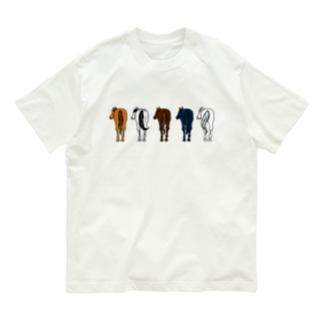 【うまけつ】サラブレッド Organic Cotton T-shirts