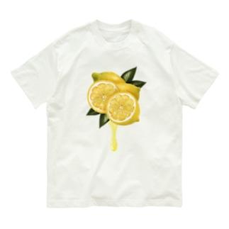 【forseason】レモン Organic Cotton T-shirts