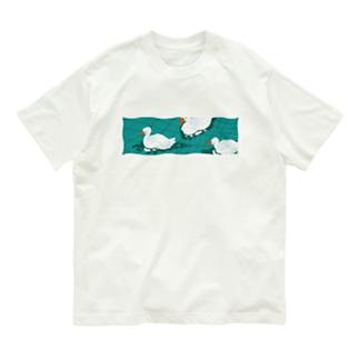 ゆらゆらアヒル池 Organic Cotton T-Shirt