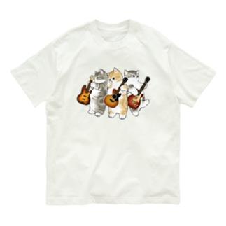 君のために歌う「ニャー」 Organic Cotton T-shirts