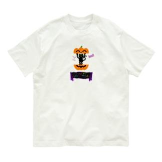 かぼちゃねこ🎃2020 Organic Cotton T-shirts