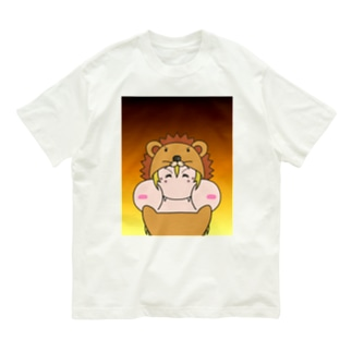 ギャルぷくライオン Organic Cotton T-shirts