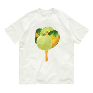 【forseason】メロン Organic Cotton T-shirts