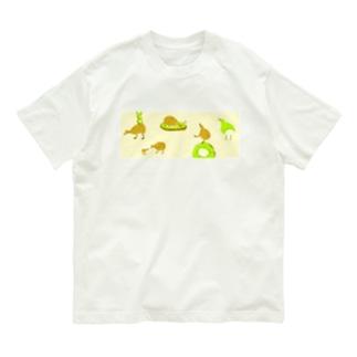 キーウィ Organic Cotton T-shirts