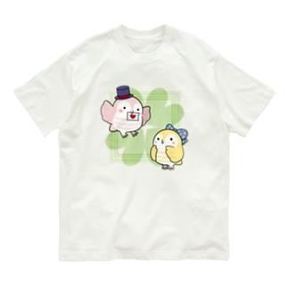恋するフクロウ Organic Cotton T-shirts