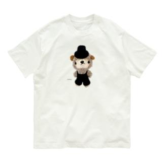 Smiling * 紳士な羊くん♡ Organic Cotton T-shirts