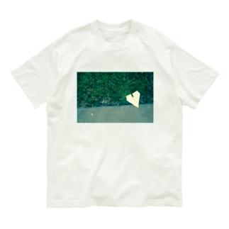 紙飛行機 Organic Cotton T-shirts
