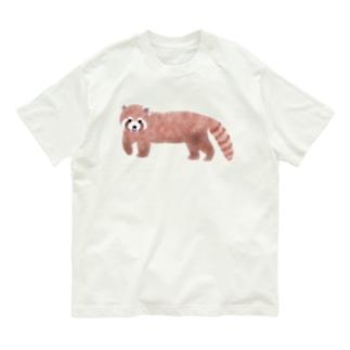 レッサーパンダ Organic Cotton T-shirts