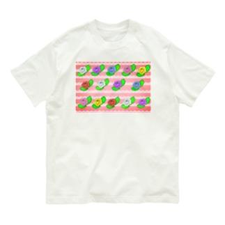 華やか薔薇 Organic Cotton T-Shirt